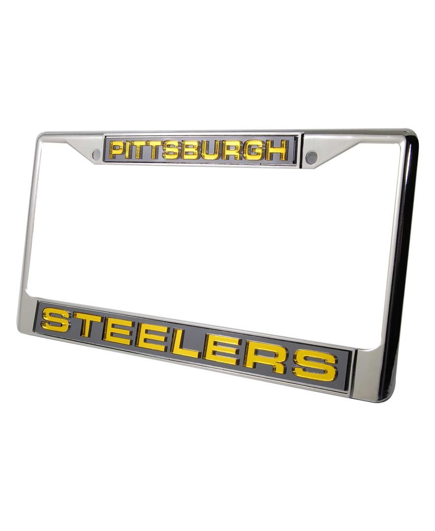 Perfect Pittsburgh Steelers License Plate Frame Pictures - Ideas de ...