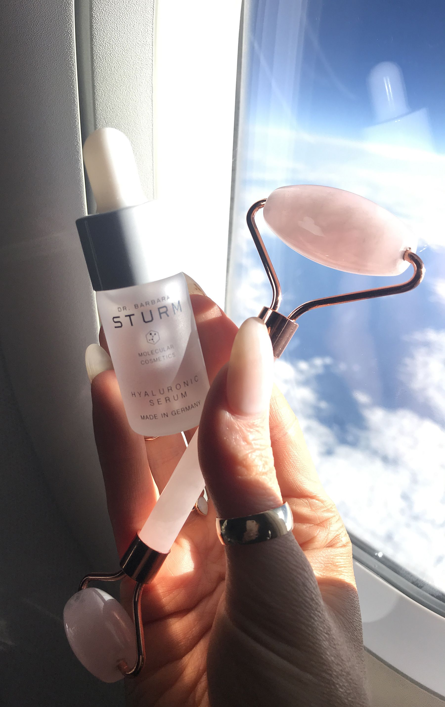 Hyaluronic Serum Travel beauty essentials, Hyaluronic
