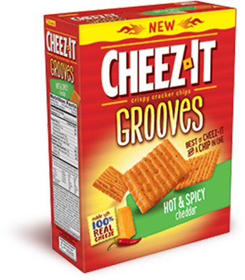 Cheez It Grooves Hot Spicy Cheez It Hot Spicy Grocery Foods