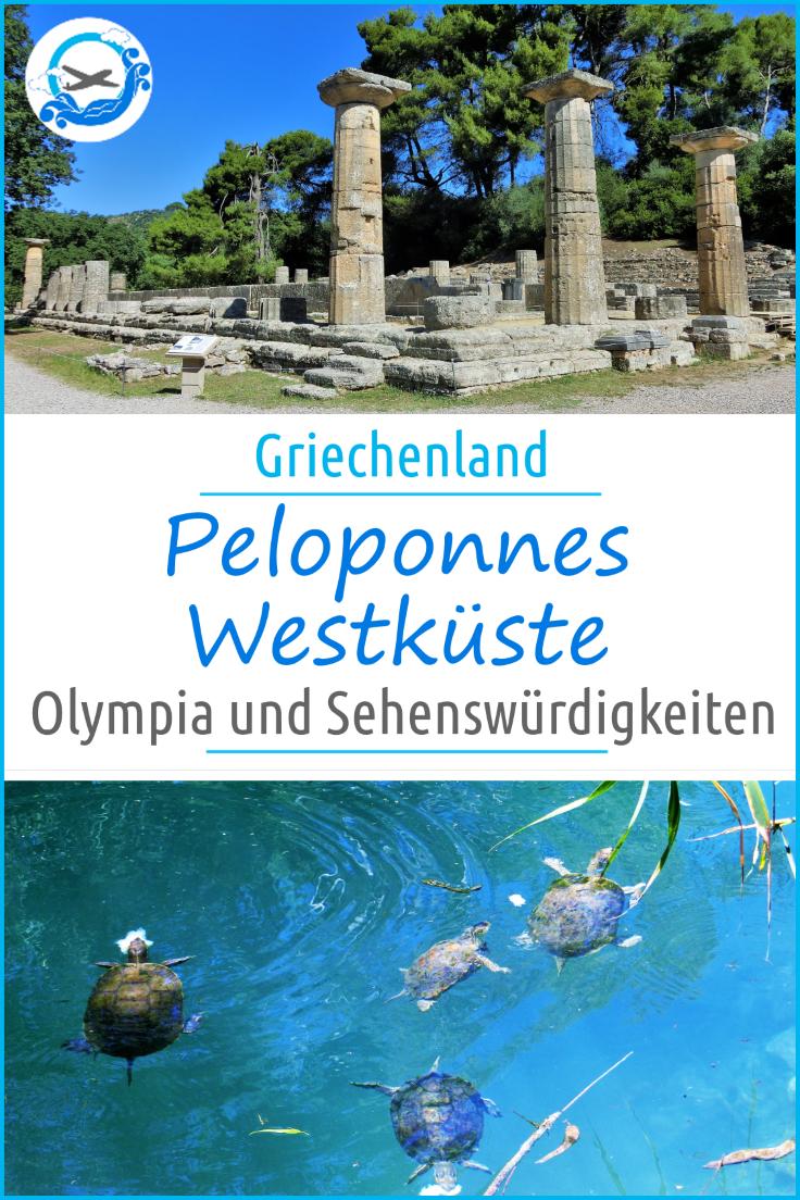 Schönste Strände Peloponnes Karte.Unsere Peloponnes Rundreise Westpeloponnes Zacharo Olympia