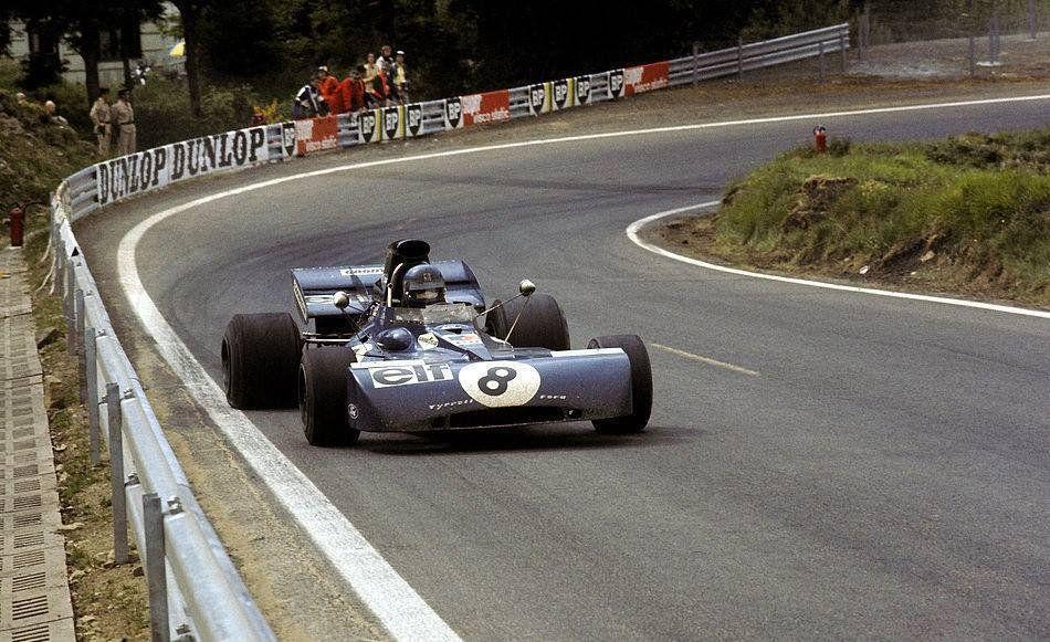 Patrick Depailler Tyrrell 004 Ford Cosworth DFV Elf