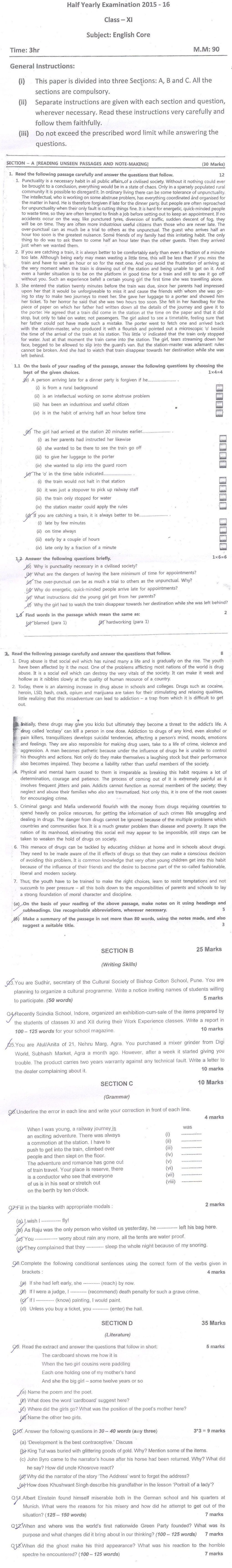 Ncert Textbook In English For Class 11 Hornbill .pdf