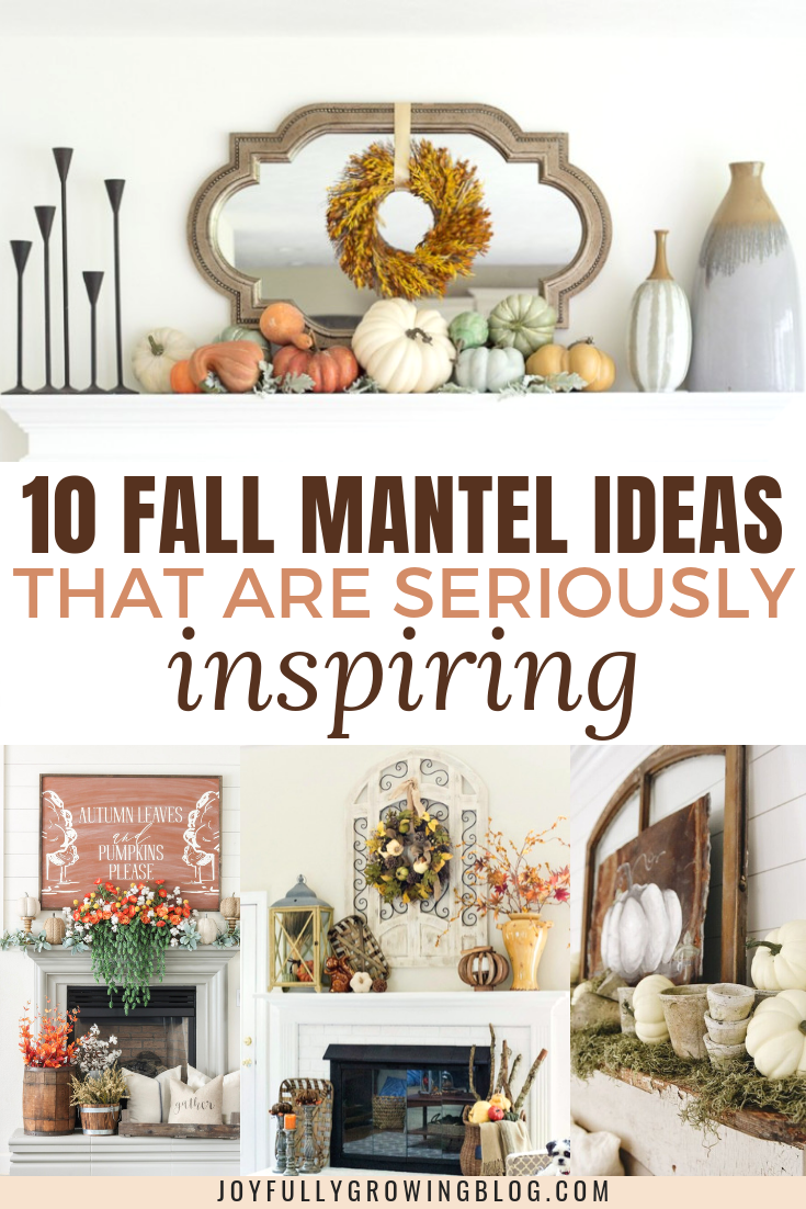 10 Fall Mantel Ideas That Are Seriously Inspiring | Share Home DIY ...
