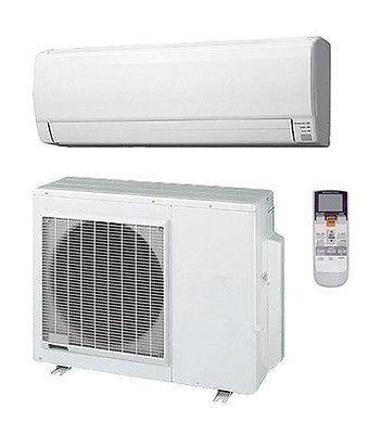 30 000 Btu 16 5 Seer Fujitsu Single Zone Mini Split Air Conditioning System Ac Heat Pump System Heat Pump Ductless Mini Split