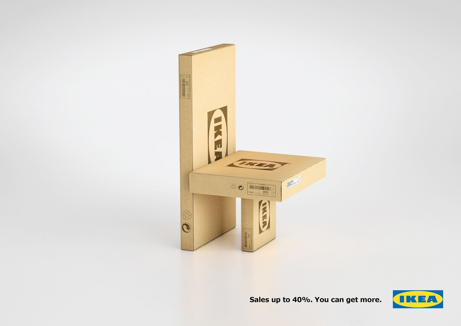 IKEA Transforms its Flat Pack Cardboard Packaging Into Funky ...