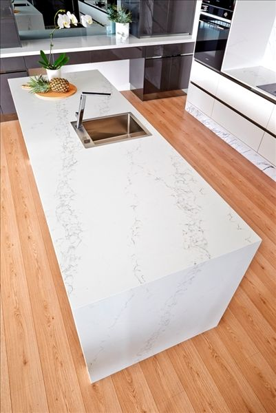 Pompeii Quartz Quartz Slab Tile For Naples Florida Fort Myers Florida Kitchen Benchtops Marble Kitchen Island Kitchen Marble