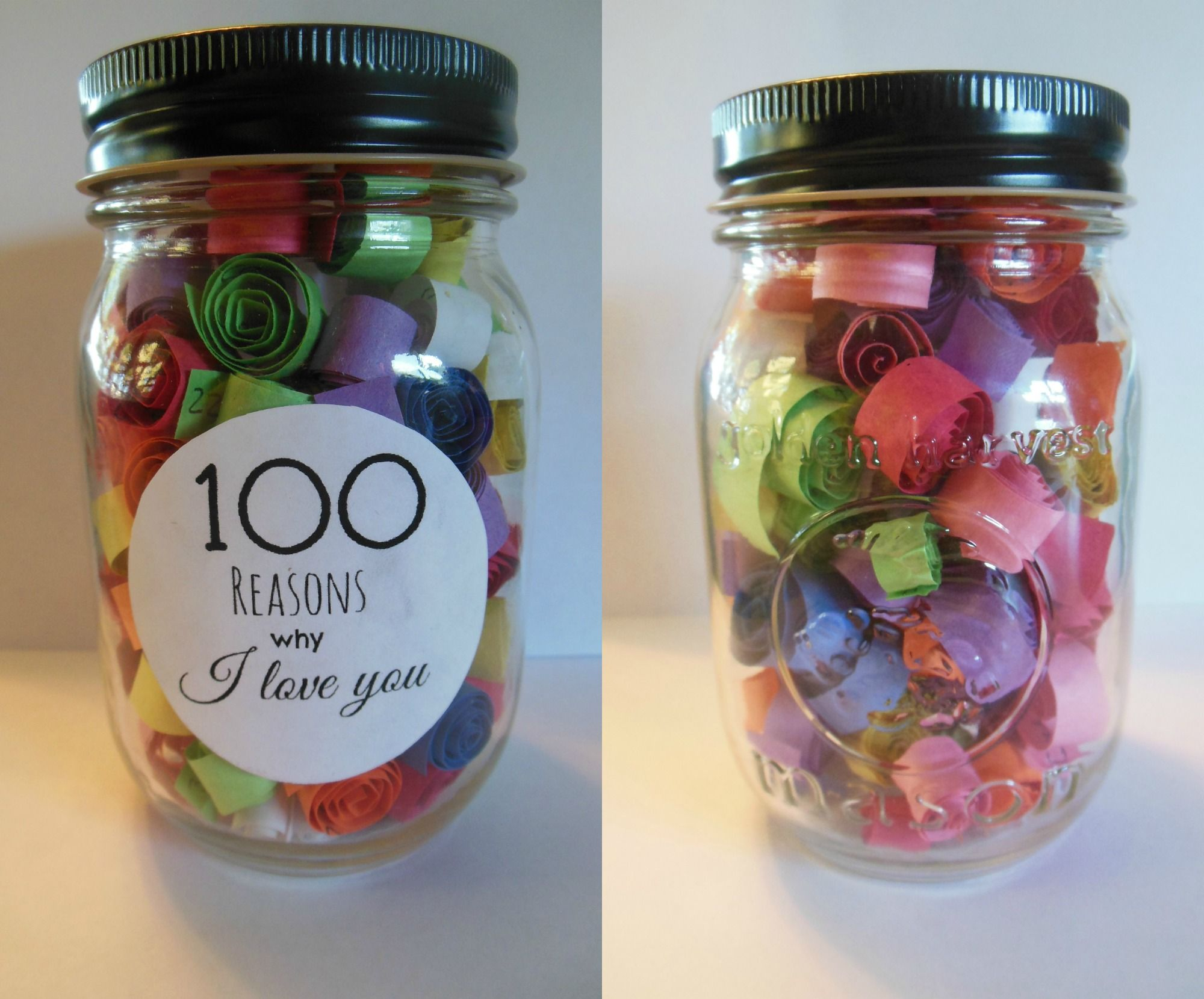 100 Reasons Why I Love You Jar So Simple Yet So Heart Warming My