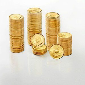 South Africa 1 10 Oz Gold Krugerrands Random Year By Roberts Resources Precious Metals Www Amazon Com Dp B004db3m7a Gold Krugerrand Gold Investments Gold