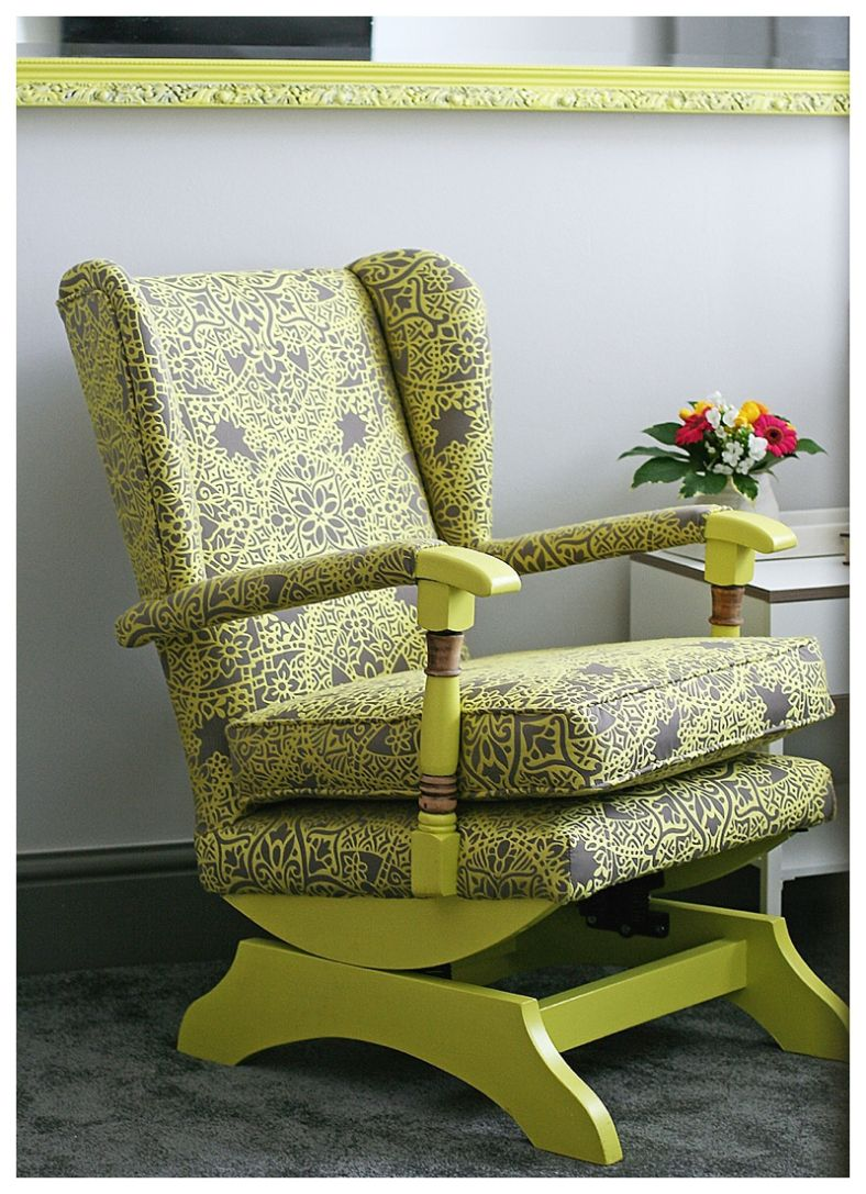 How To Add Contemporary Zing To An Old Parker Knoll Style