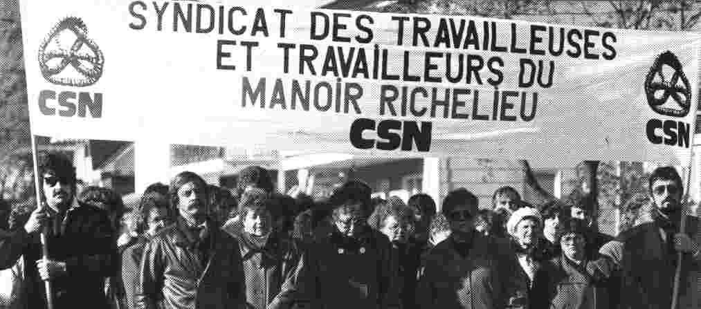 25 octobre 1986 Décès de Gaston Harvey lors dune manifestation au Manoir Richelieu #police https://t.co/PCPxIEJina https://t.co/c5tn3woXUL