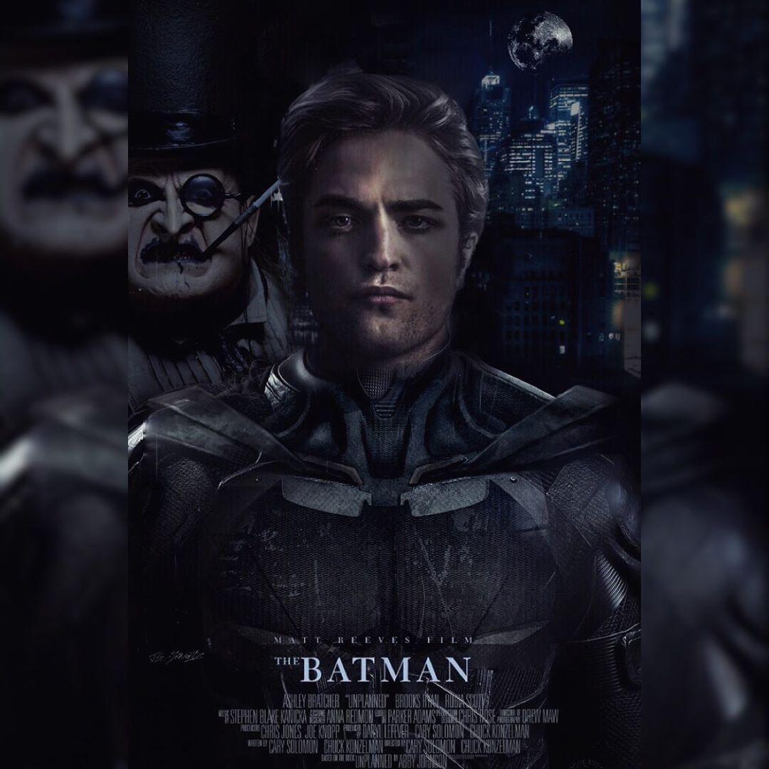The New Batman, Robert Pattinson