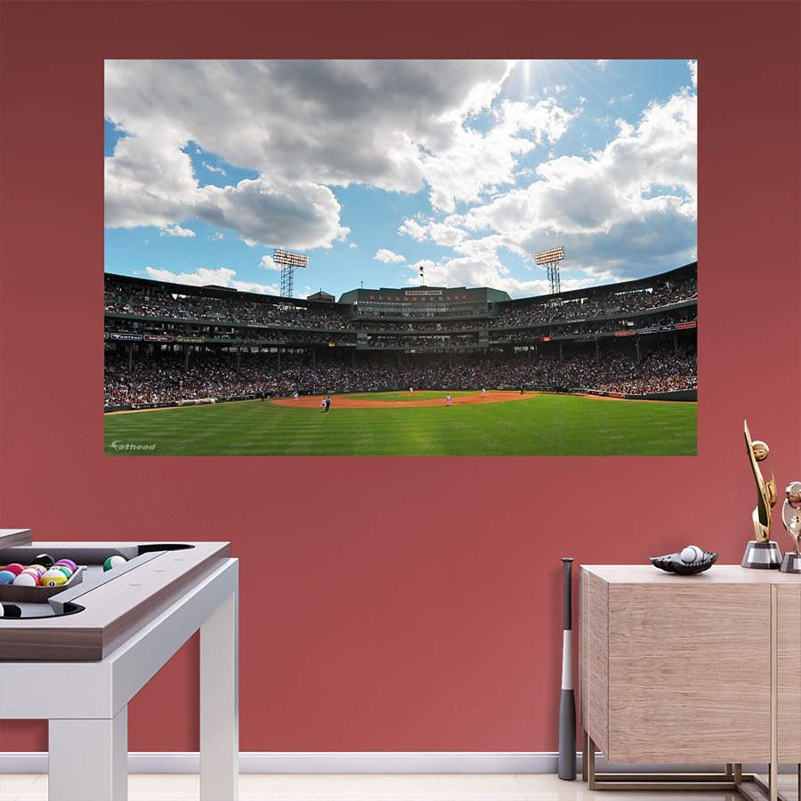 Fenway Park Outfield Fathead Wall Mural Wcp Art Ideas