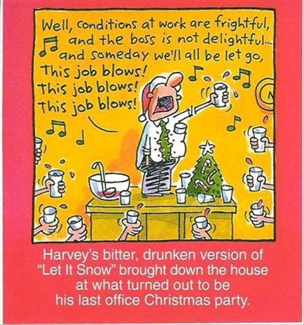 funny christmas party images