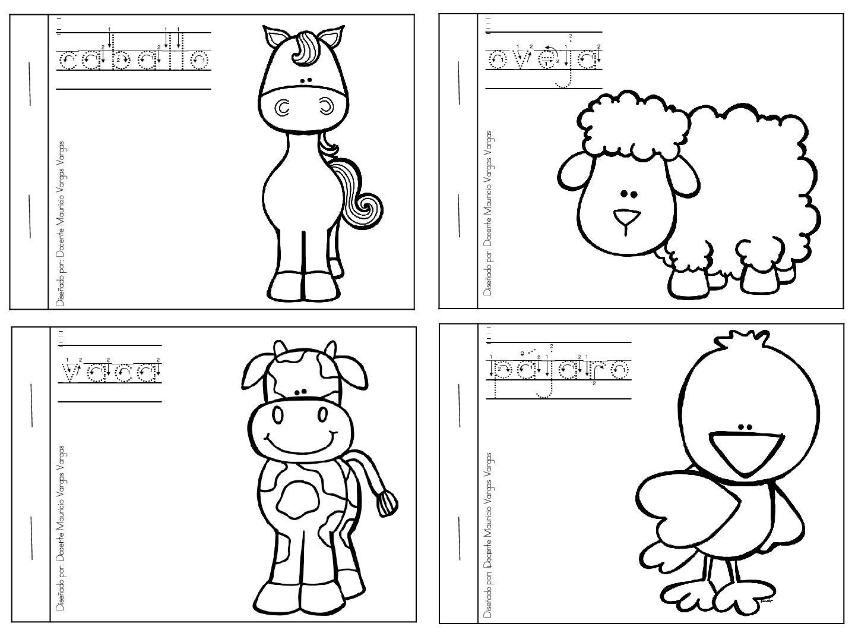 Mi libro de colorear de animales domésticos | jardin | Pinterest ...