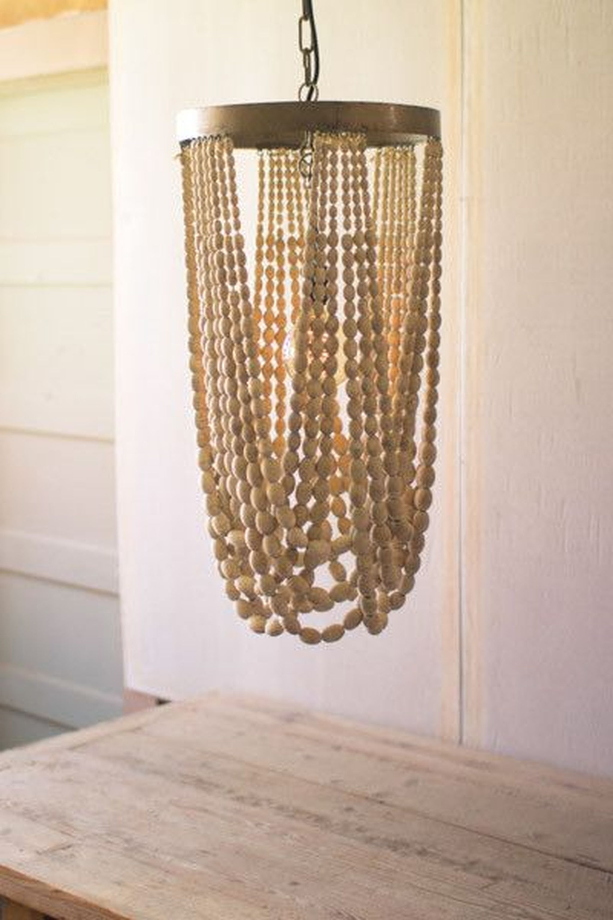 open crafted au fran bead a designs courant hand ois wooden chandelier sea interiors glass llc