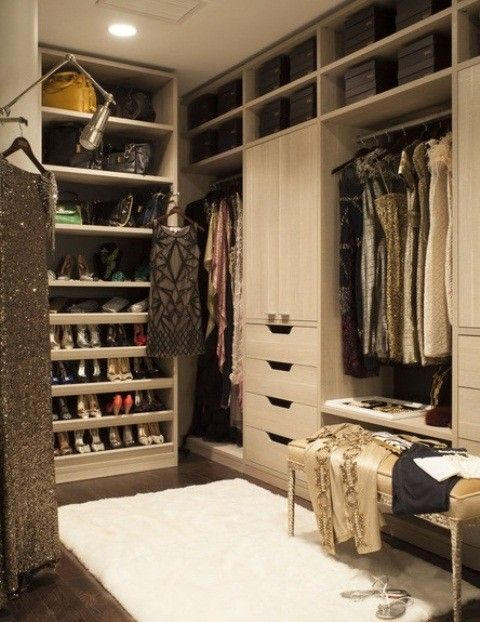 Exceptional Stunning Walk In Closet Design Ideas With Wooden Walk In Closet Sets Also  Grey Hanging Clothing
