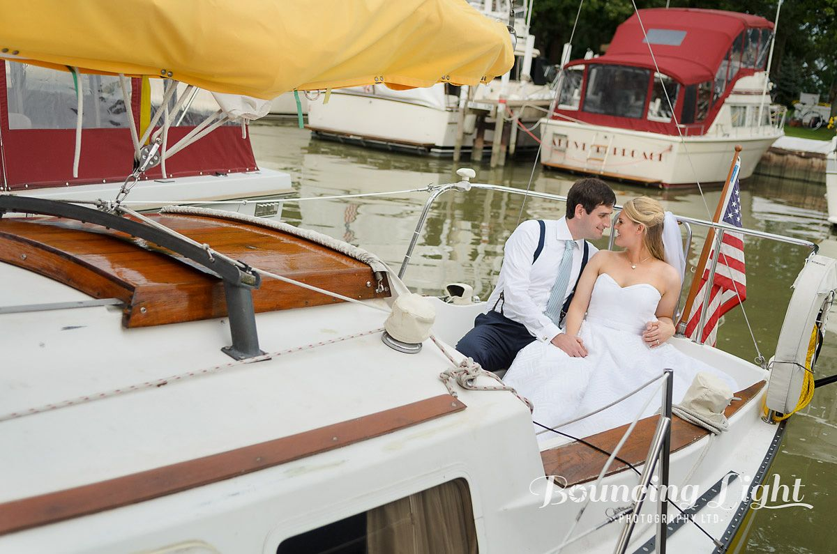 Yacht wedding decoration ideas  nautical inspired wedding boat suspenders  Wedding Ideas