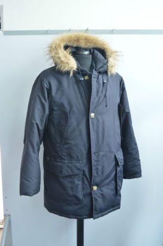 purchase cheap a7d60 71da8 Giaccone-vero-piumino-R-C-P-RCP-Project-blu-taglia-XL-con ...