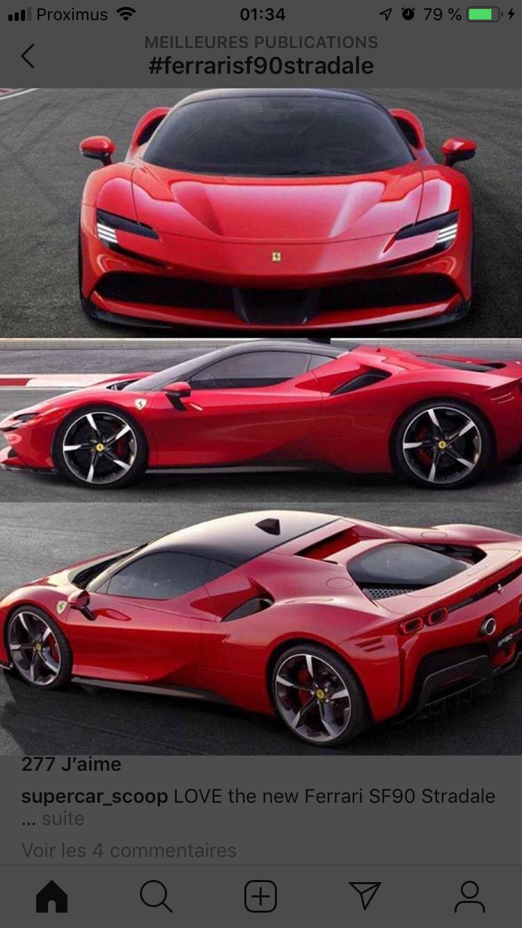 Ferrari SF90 Stradale #FerrariSF90Stradale #Ferrari #hypersportcar #luxurycar #Luxury #Car