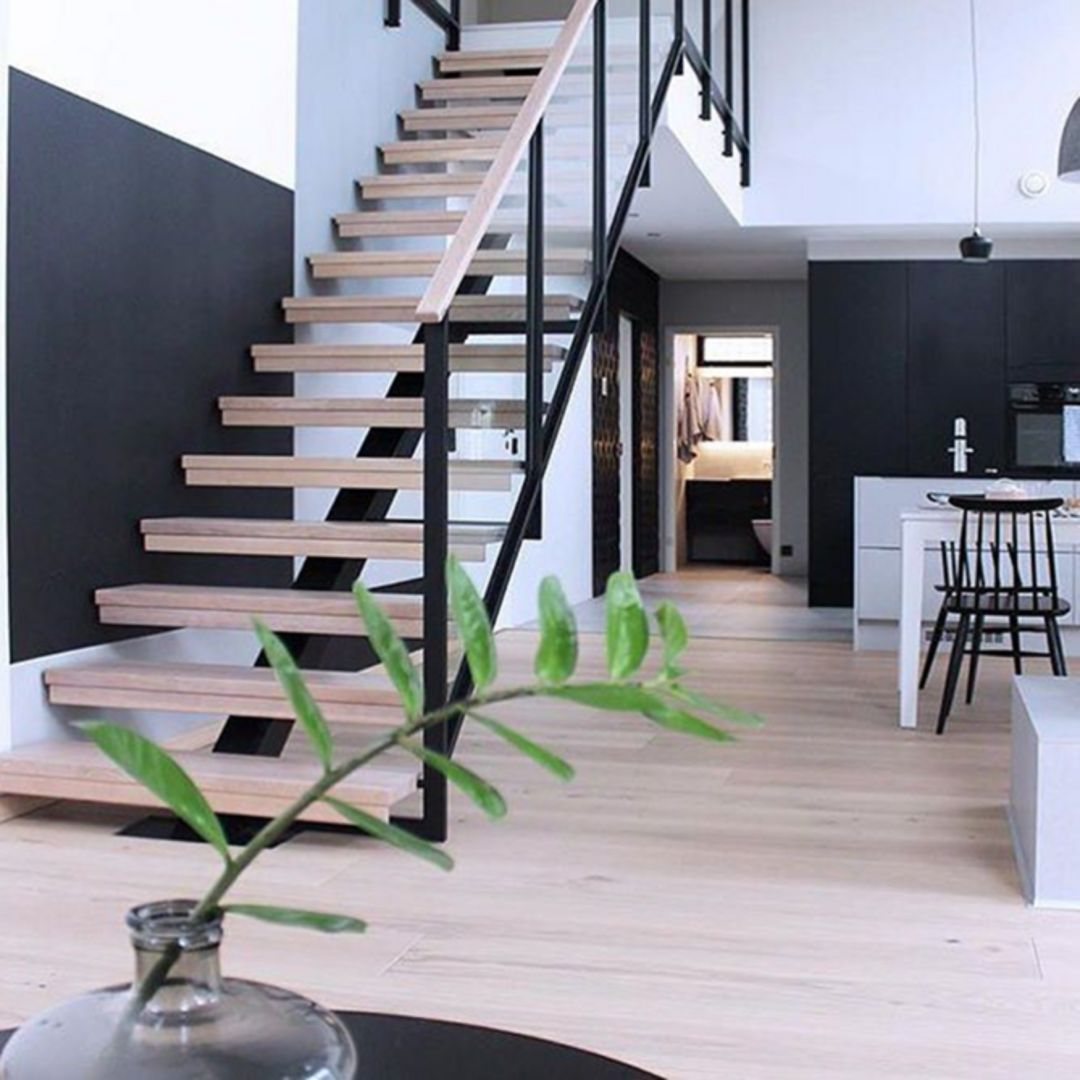 30 Modern Home Decor Ideas: 30 Brilliant Modern Indoor Stair Design Ideas You Must See