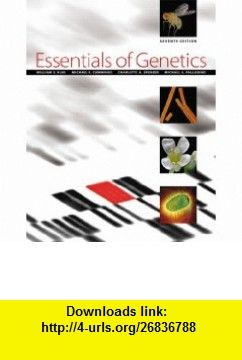 Essentials Of Genetics 7th Edition 9780321618696 William S Klug