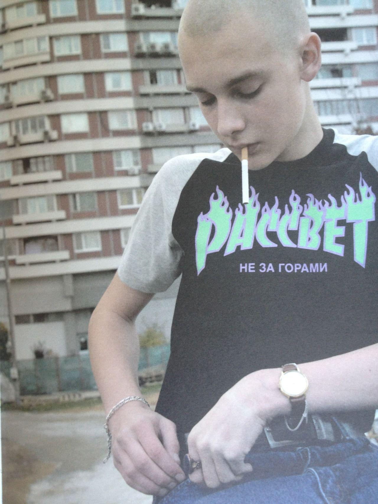 ph. Gosha Rubchinskiy.  from Dust #4