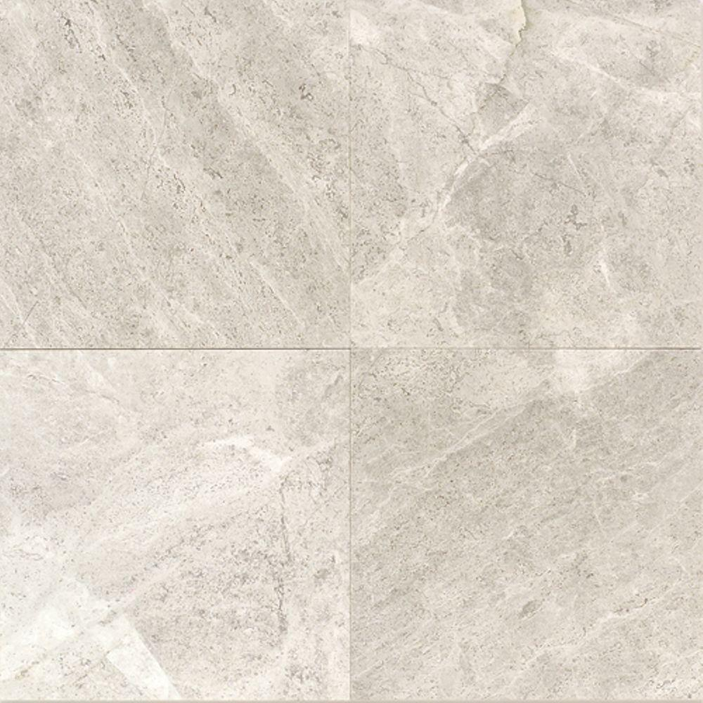 Daltile Arctic Gray 12 In X 12 In Natural Stone Floor And Wall