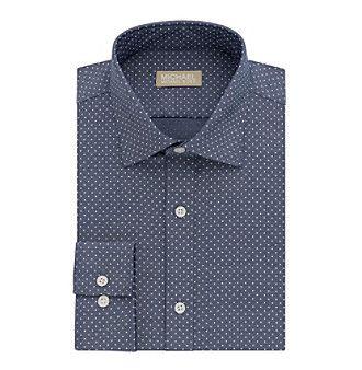 MICHAEL Michael Kors® Men's Long Sleeve Reg Fit Dress Shirt