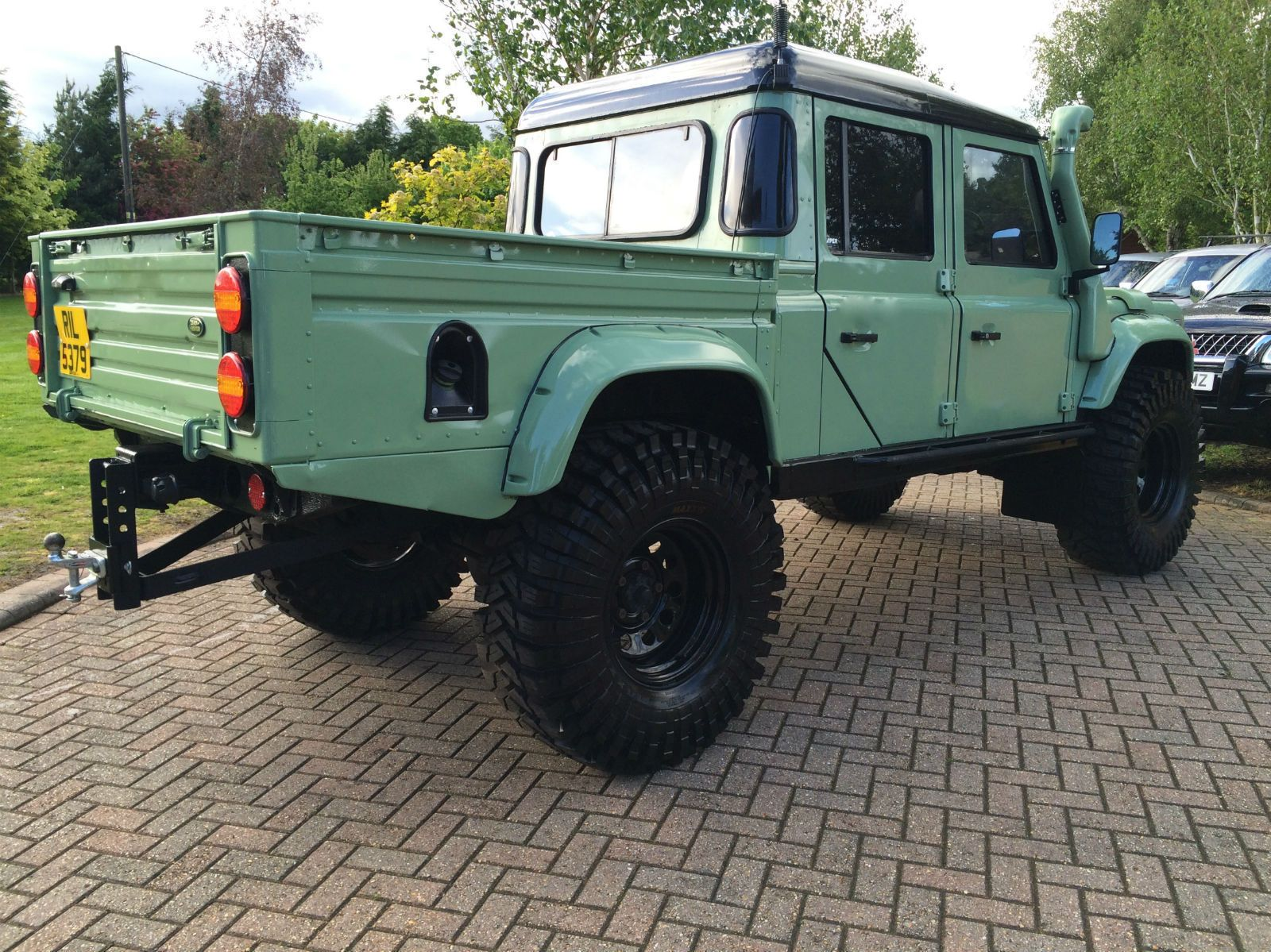 1999 land rover defender 130 td5 double cab land rover defender 130 defender 130 and land. Black Bedroom Furniture Sets. Home Design Ideas