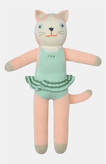 Blabla Splash The Cat Knit Doll Knitted Dolls Cat