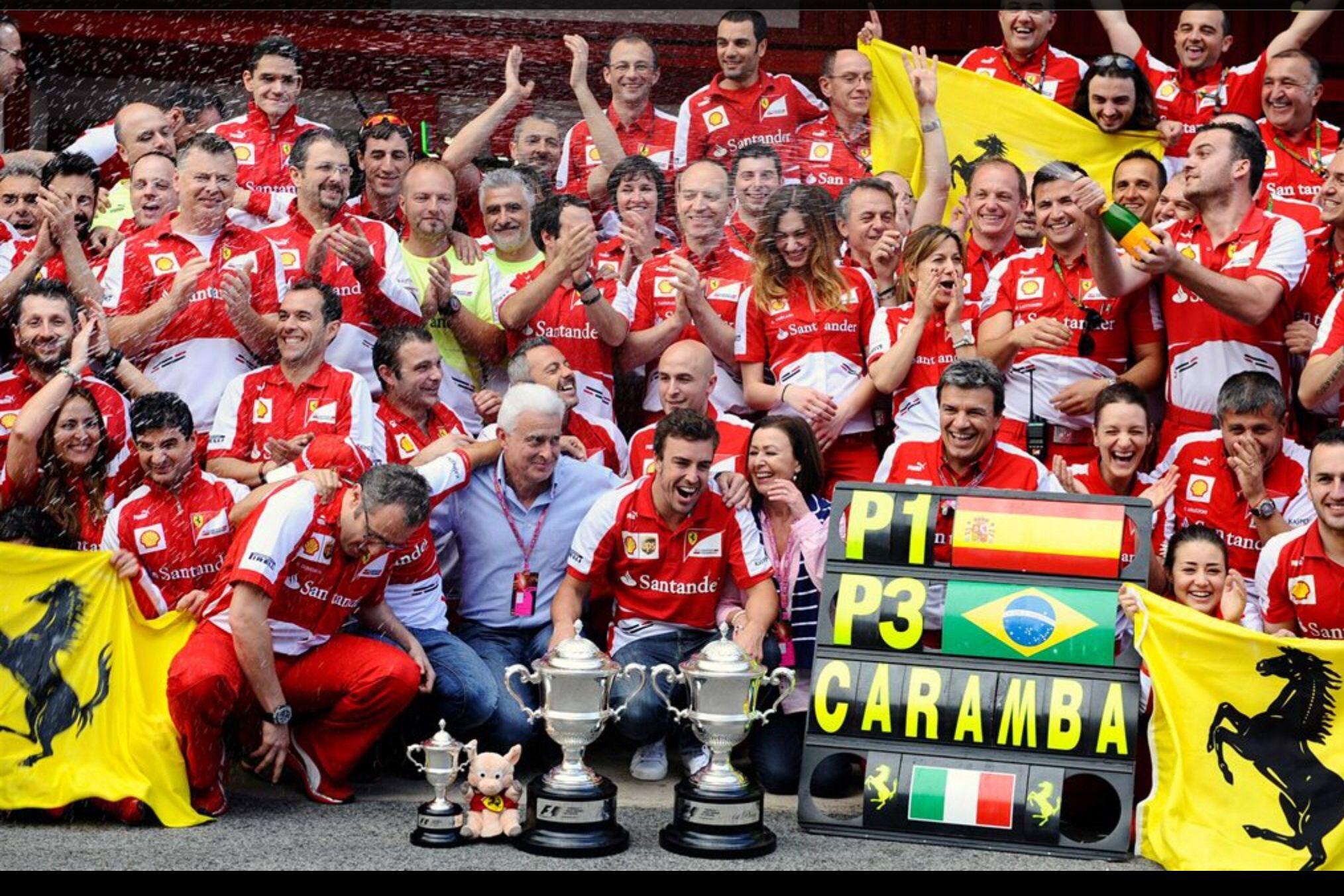 F.Alonso Race winner 2013 -Grand Premio de España