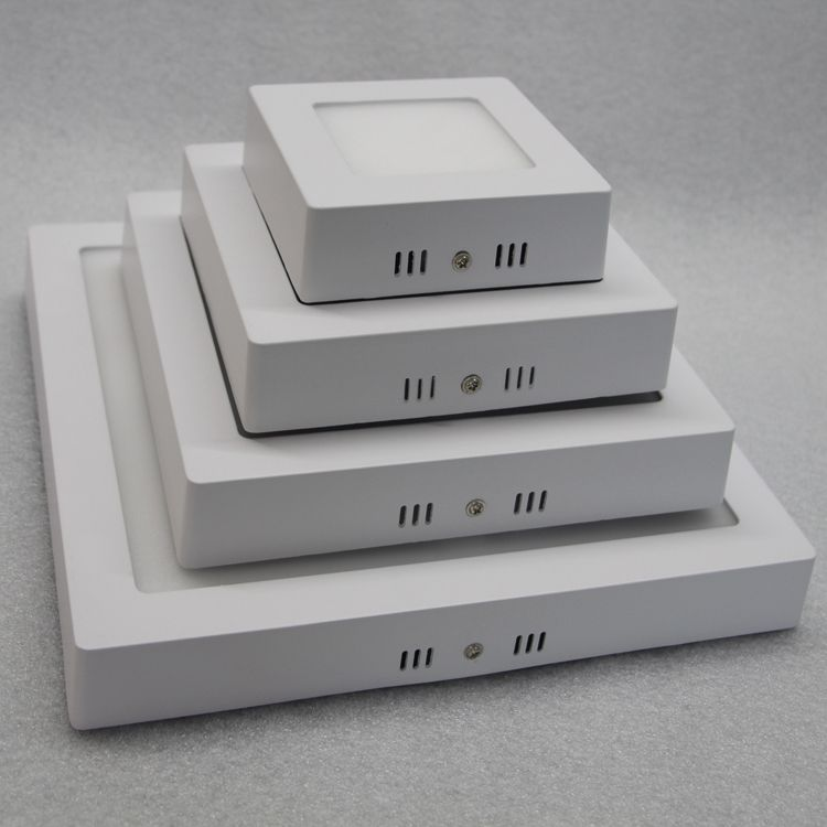 Ceiling Mounted LED Panel Light, Square Shaped