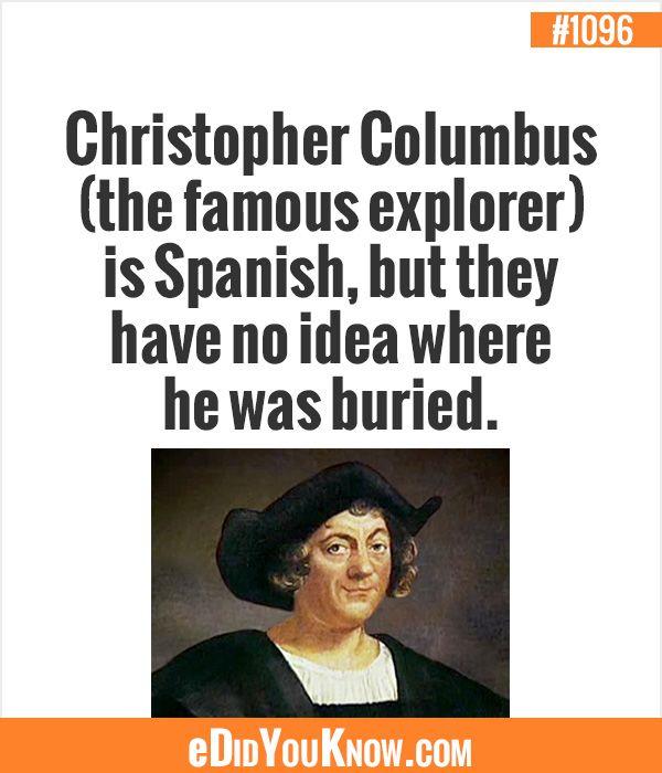 Christopher columbus redhead explorer