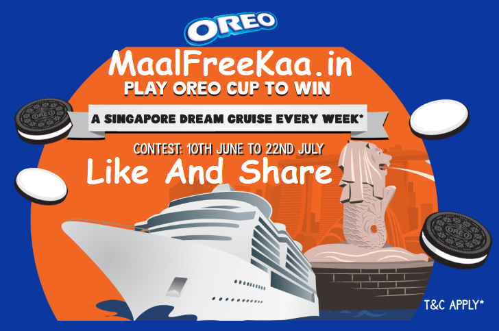 Oreo Cricket World Cup Game Win Singapore Trips Free