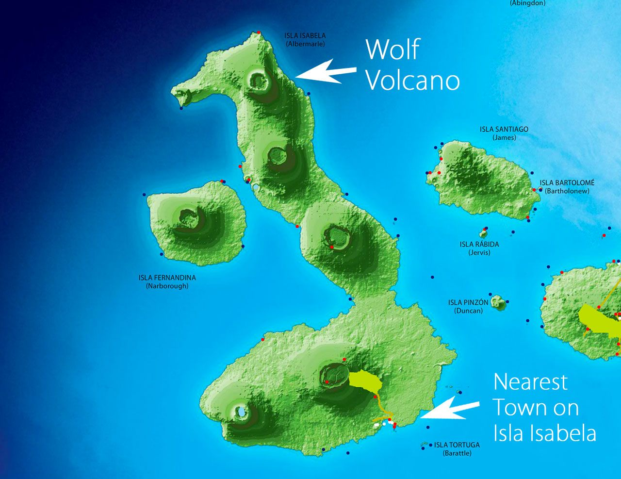 Image Result For Galapagos Islands Volcano Map