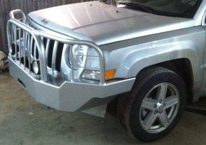 Front Winch Bumper Jeep Patriot Bluelakeoffroad Jeep Patriot Winch Bumpers Jeep