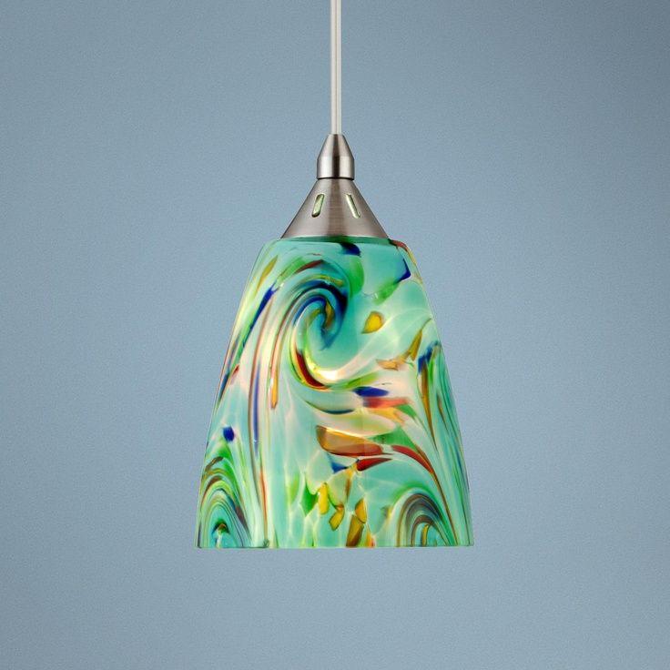Mini pendant lights art glass mini pendant lights photos ideas