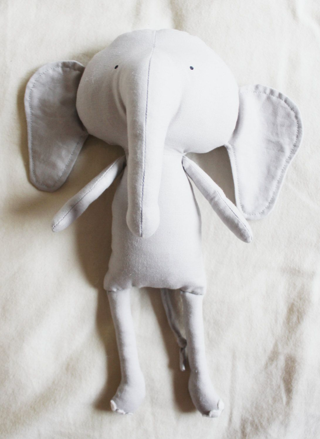 Elephant Sewing Pattern Softie Plush Toy Cloth Doll Pattern PDF ...