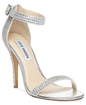 Possible wedding shoes! Steve Madden Women's Shoes, Real Love R Evening Sandals - Evening & Bridal - Shoes - Macy's