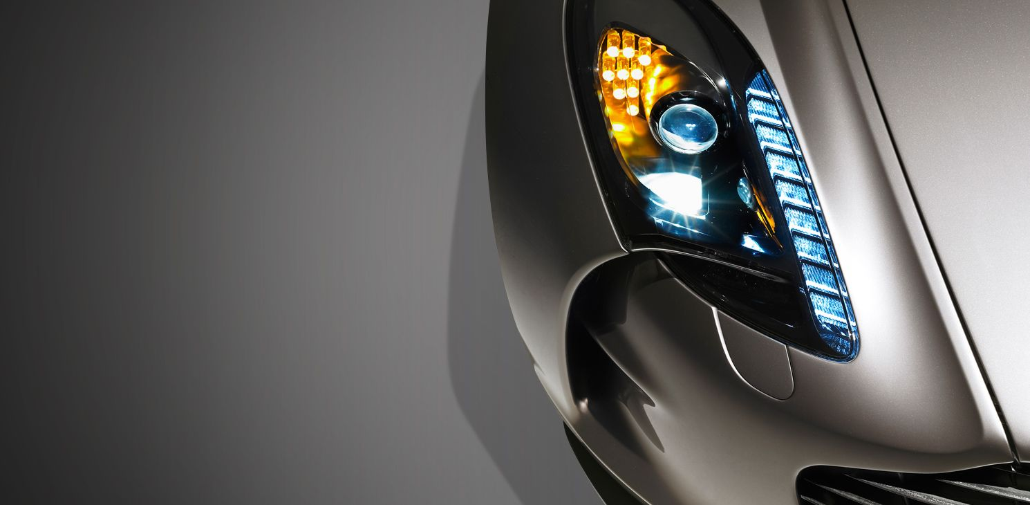 Aston Martin ONE Headlights Yeah Theyre That Cool Amazing - Aston martin headlights