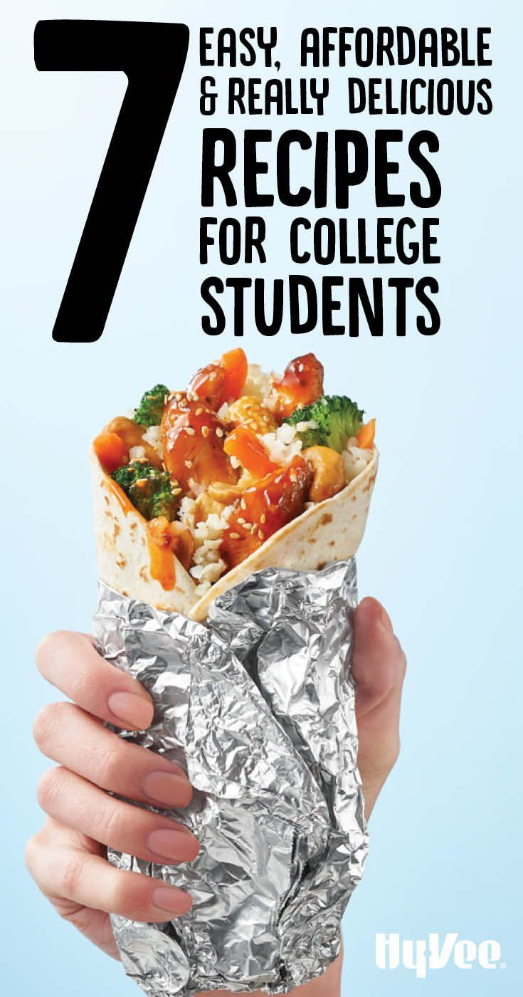 Cooking in college can be tricky but these meals are easy and affordableperfect for a busy college student