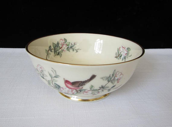 Lenox Serenade 5 Bowl All Purpose Cereal Coupe Vintage Vintage