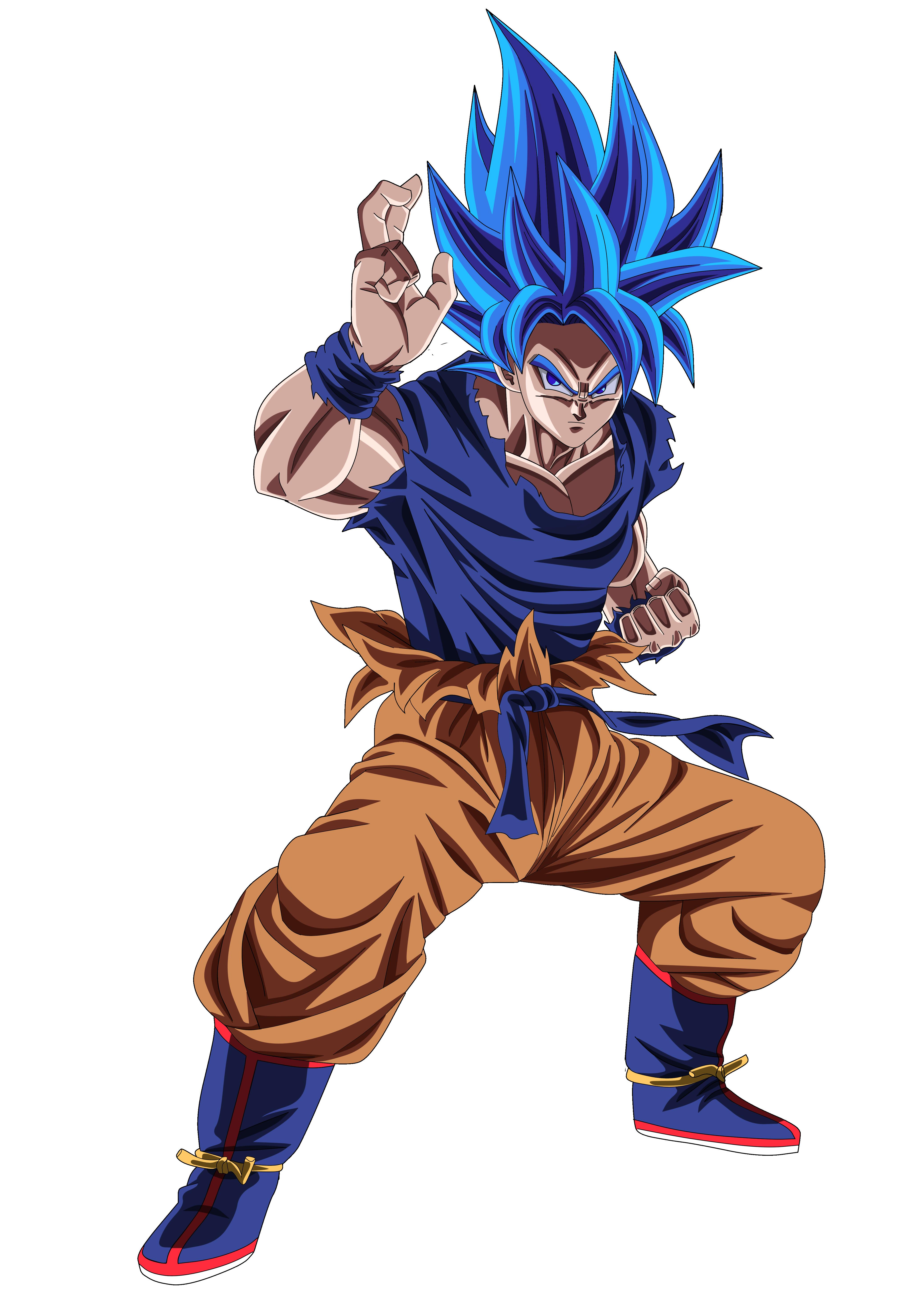 Goku By Dt501061 On Deviantart Anime Dragon Ball Super Dragon Ball Super Goku Dragon Ball Super Art