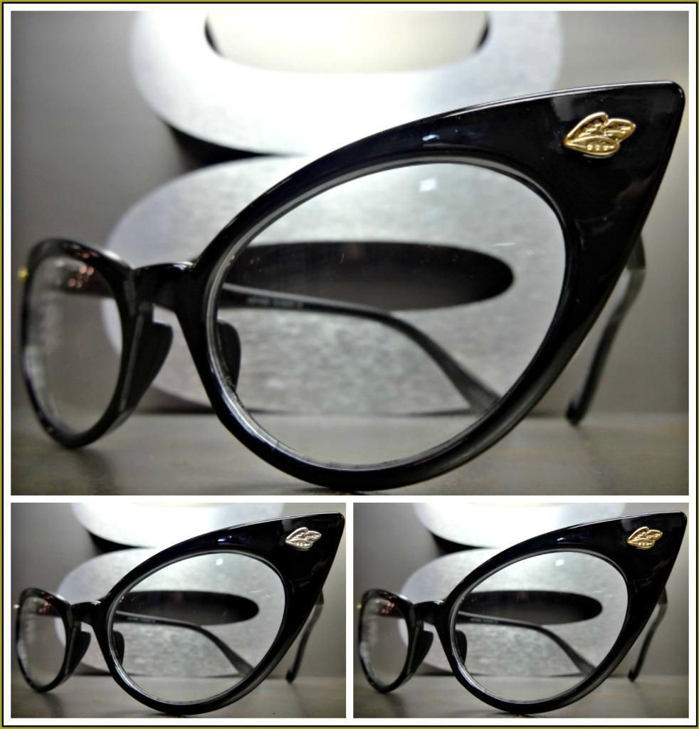 4c8e94d1dc0  12.99 - Women s Classic Vintage Retro Cat Eye Style Clear Lens Eye Glasses  Fashion Frame  ebay  Fashion
