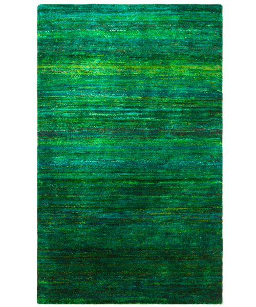 Recycled Sari Spring Vanderhurd With Images Rugs Gabbeh Green