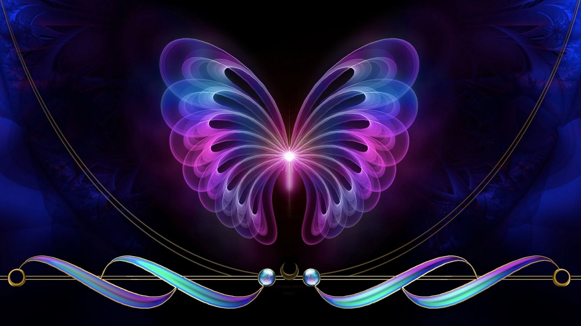 Best Butterfly Design Wallpaper is best high definition