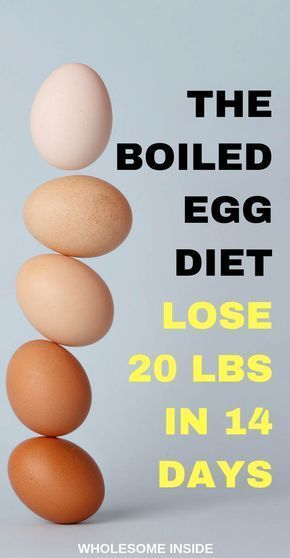 The Boiled Egg Diet: How to lose 20 pounds in 2 weeks