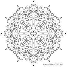 kuvahaun tulos haulle mandala coloring pages - Sacred Geometry Coloring Book