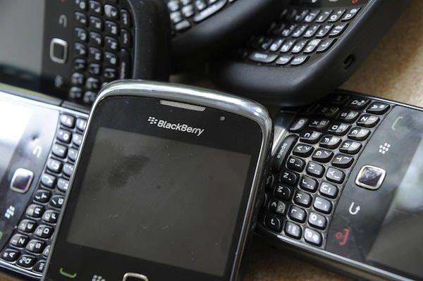 RIM BlackBerry 'R.I.P.'