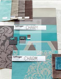 Nieuwe #behang collectie Charm van Eijffinger. #teal #wallpaper